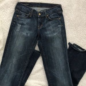Citizens of Humanity Women 25 Jeans Blue Ric Rac